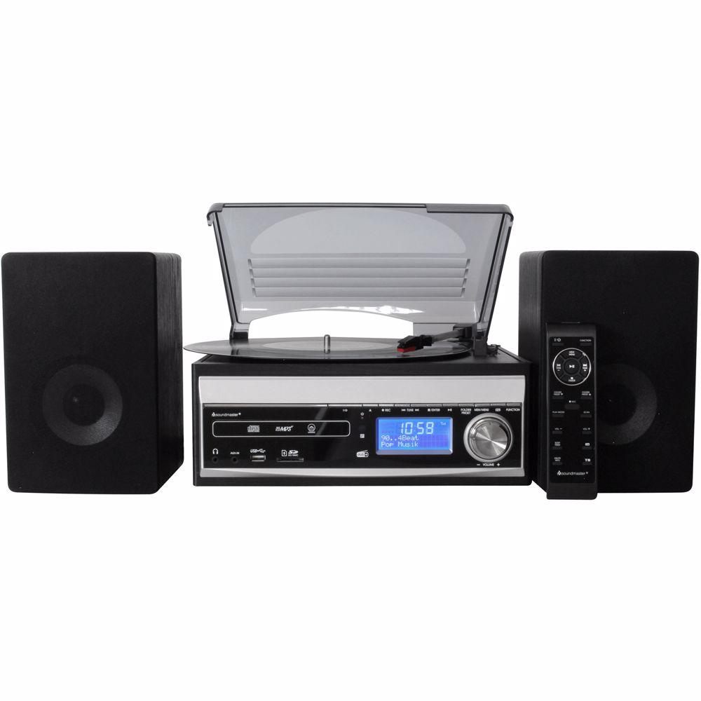 Soundmaster microset en platenspeler MCD1820SW
