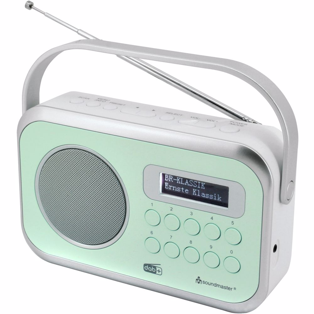 Soundmaster DAB radio Dab 270 (Groen)