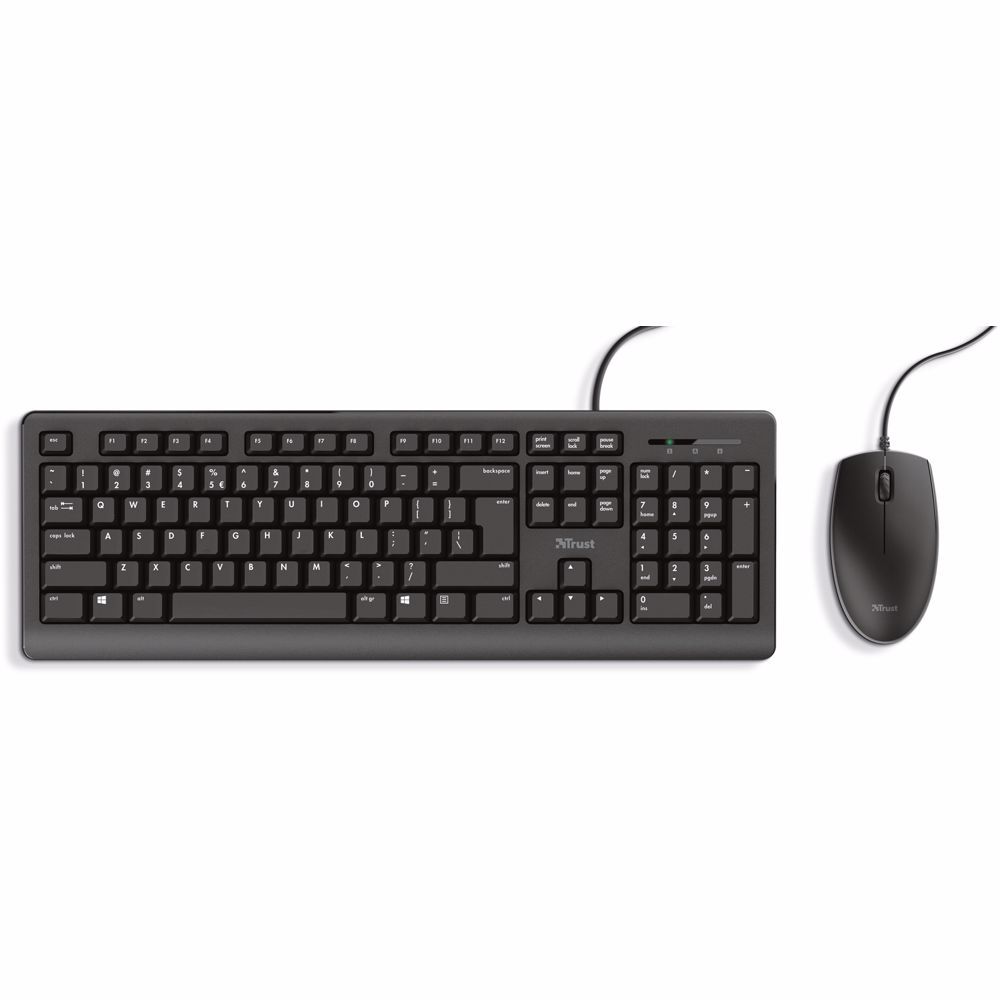 Trust toetsenbord/muis combinatie Primo