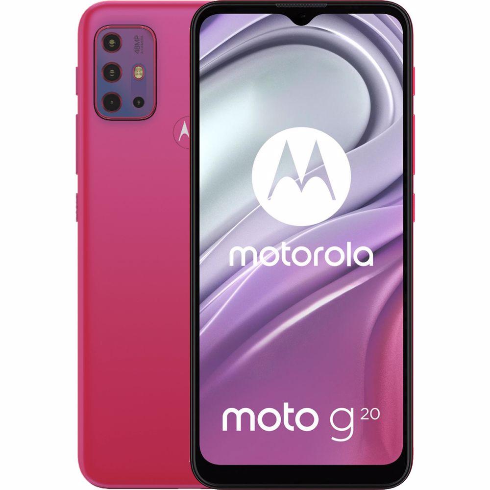 Motorola smartphone g20 (Roze)