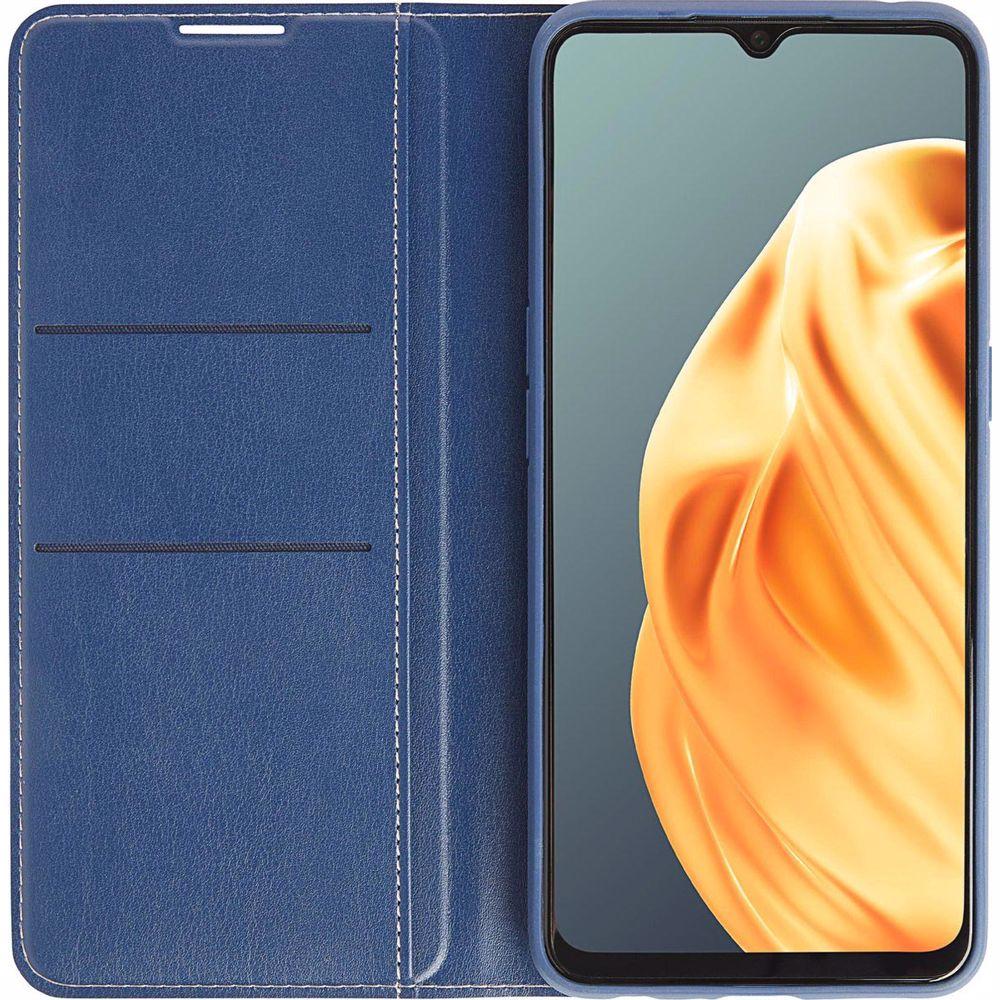 OPPO telefoonhoesje A91 Wallet Case (Blauw)