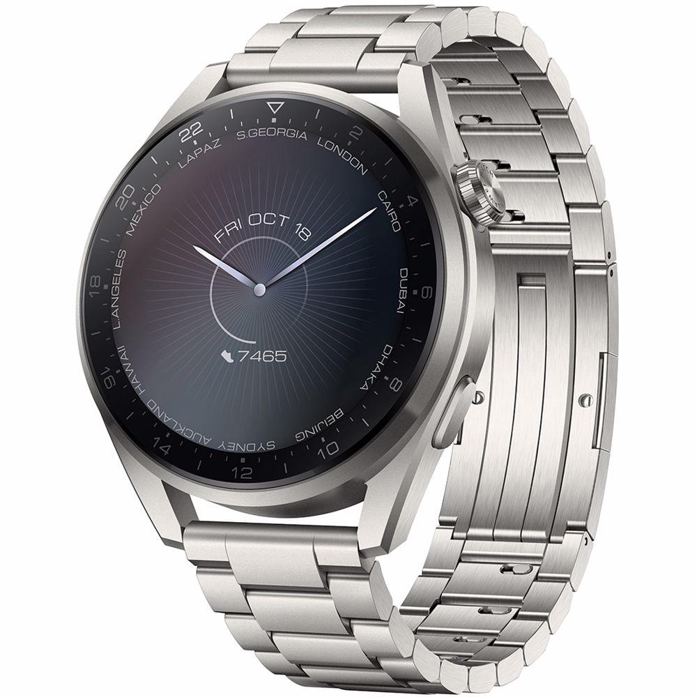 Huawei smartwatch Watch 3 Pro (Zilver)