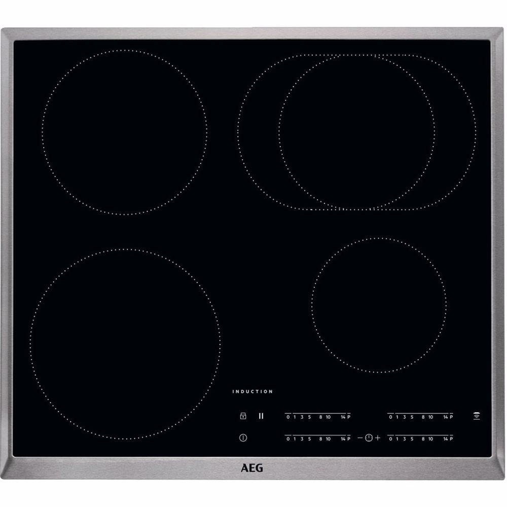 AEG inductie kookplaat met Hob2Hood IKB64411XB