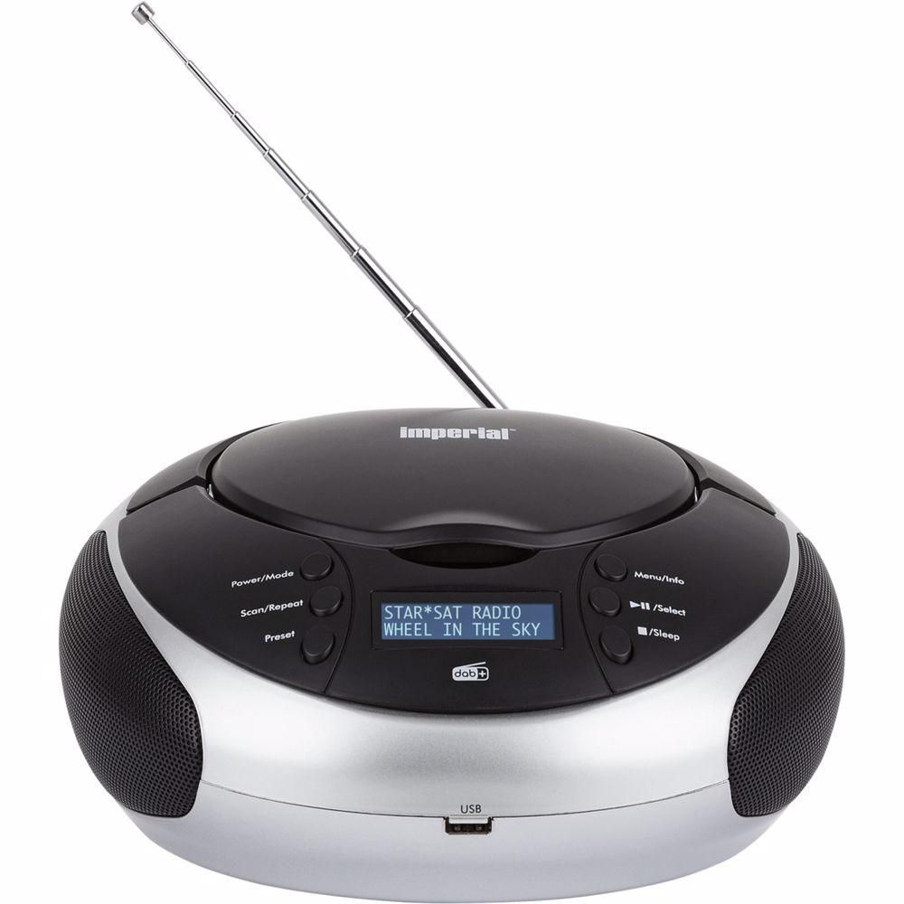 Imperial draagbare radio/CD-speler Dabman PBB2