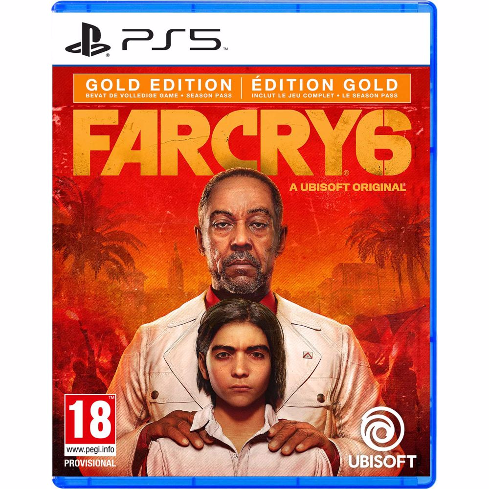 Far Cry 6 Gold Editie PS5