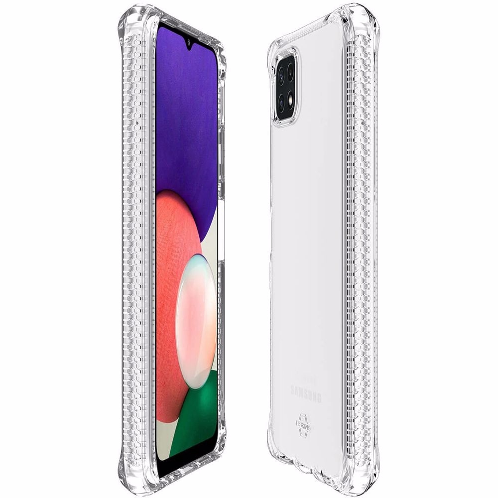 ITSkins telefoonhoesje Samsung Galaxy A22 5G (Transparant)