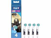 Oral-B opzetborstels Kids Mandolarian (4 stuks)