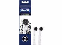 Oral-B opzetborstels Pure Clean Charchoal (2 stuks)