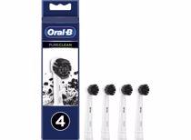 Oral-B opzetborstels Pure Clean Charchoal (4 stuks)