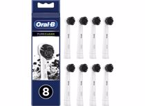 Oral-B opzetborstels Pure Clean Charchoal (8 stuks)