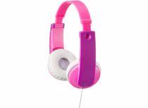 JVC kinderkoptelefoon HA-KD7 (Roze)