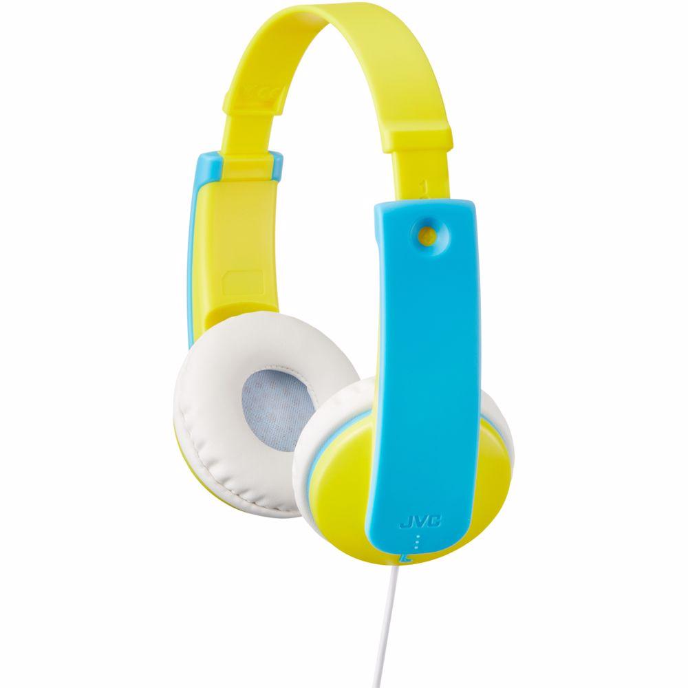 JVC kinderkoptelefoon HA-KD7 (Geel)