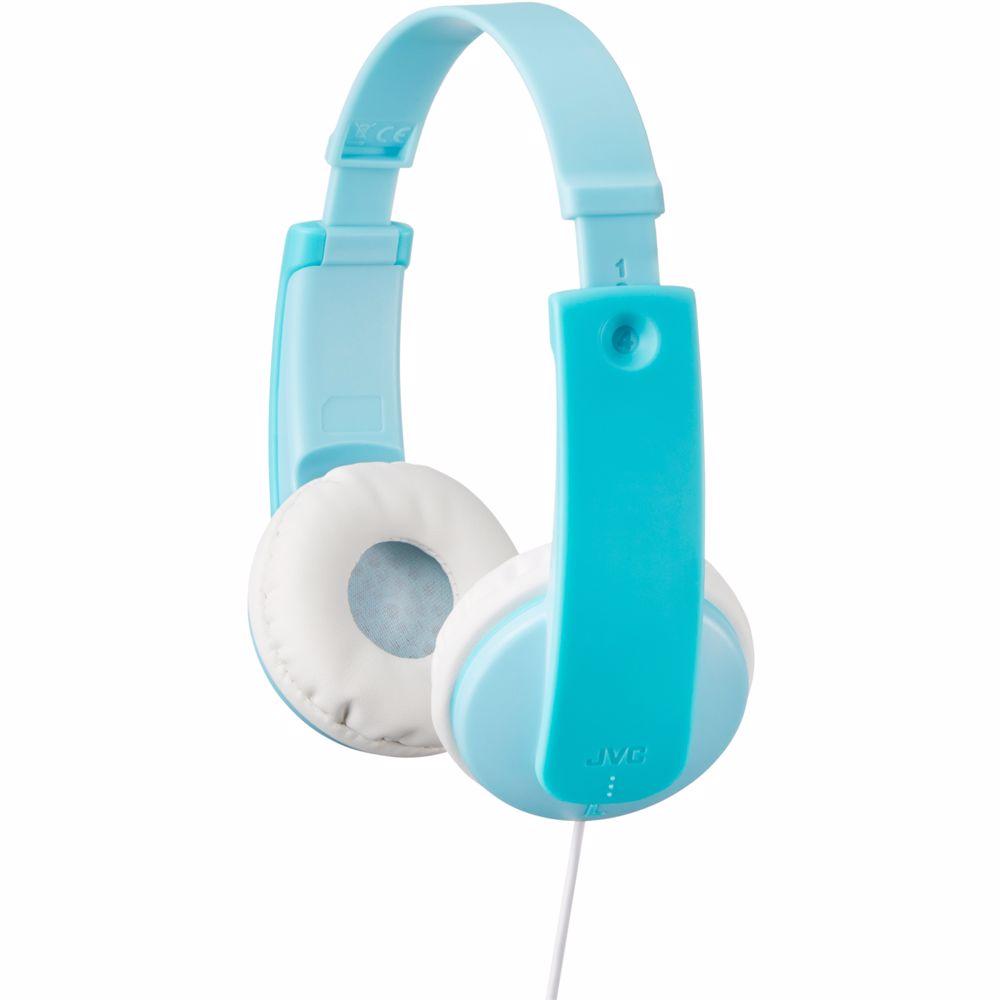 JVC kinderkoptelefoon HA-KD7 (Blauw)