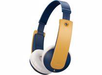 JVC kinder koptelefoon HA-KD10WYE (Blauw/Geel)