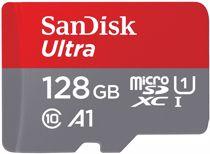SanDisk micro SD geheugenkaart 128GB