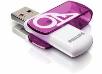 Philips USB stick Vivid 64 GB (Paars)