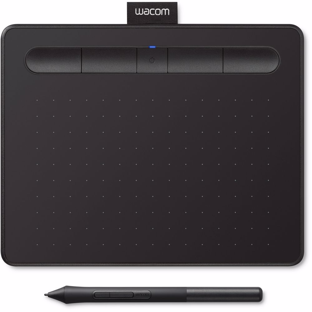 Wacom tekentablet Intuos S Bluetooth (Zwart)