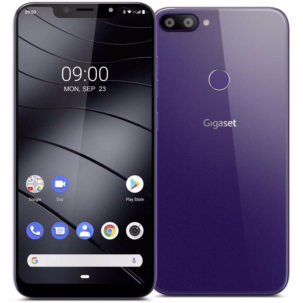 Gigaset smartphone GS195 (Paars)