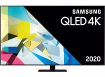 Samsung QLED 4K TV QE55Q80T (2020) Outlet