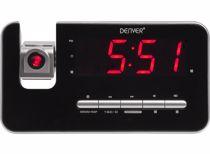 Denver wekkerradio met projectie CRP-618 (Zwart)