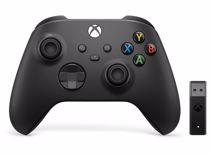 Microsoft draadloze Xbox controller + Windows receiver (Zwart)