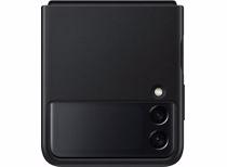 Samsung telefoonhoesje Galaxy Z Flip3 Leer (Zwart)