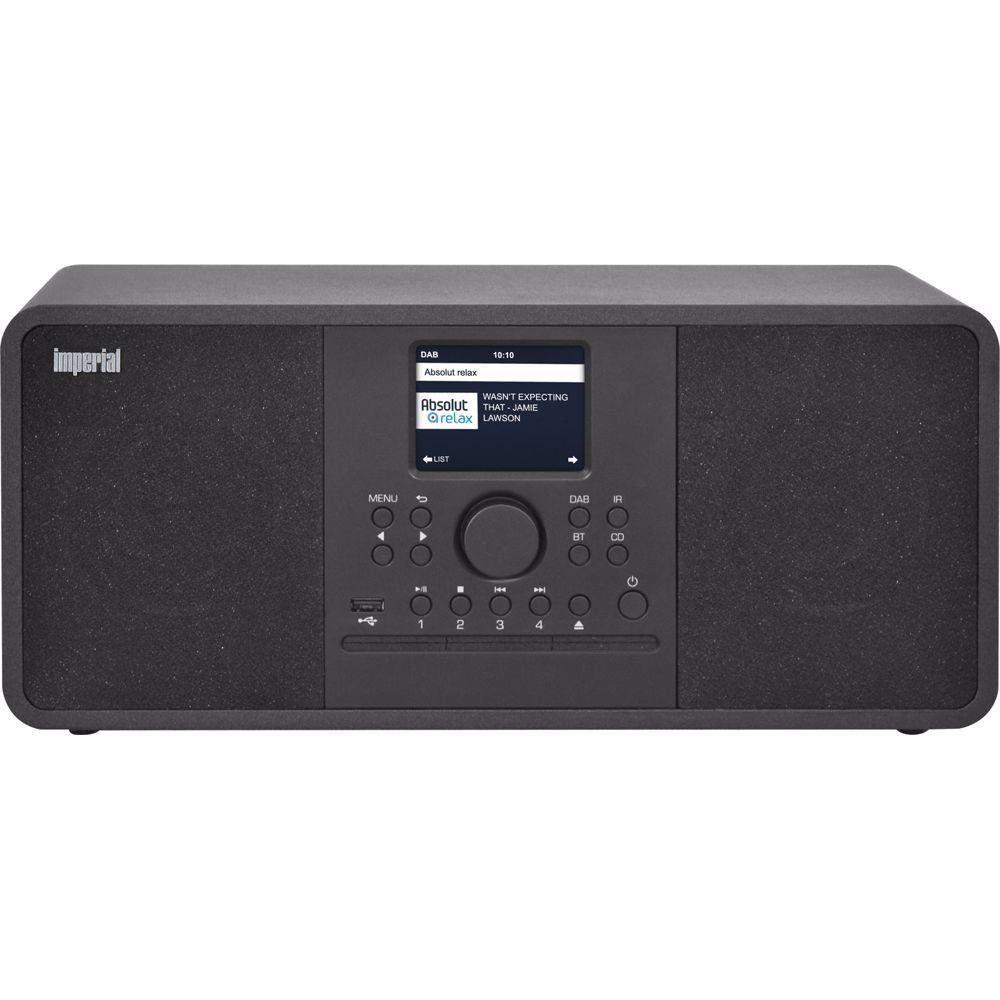 Imperial DAB radio Dabman i210 CD (Zwart)