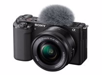 Sony systeemcamera ZV-E10 + 16-50mm F/3.5-5.6 OSS lens
