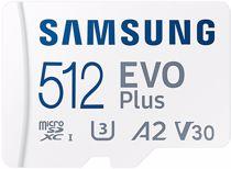 Samsung EVO+ flash geheugenkaart microSD 512GB