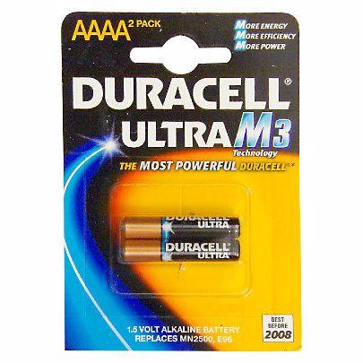 Duracell AAAA batterij LR61-ULTRA (2 stuks)