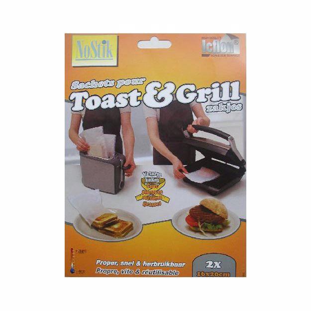 Nostik toast & grill zakjes O9005