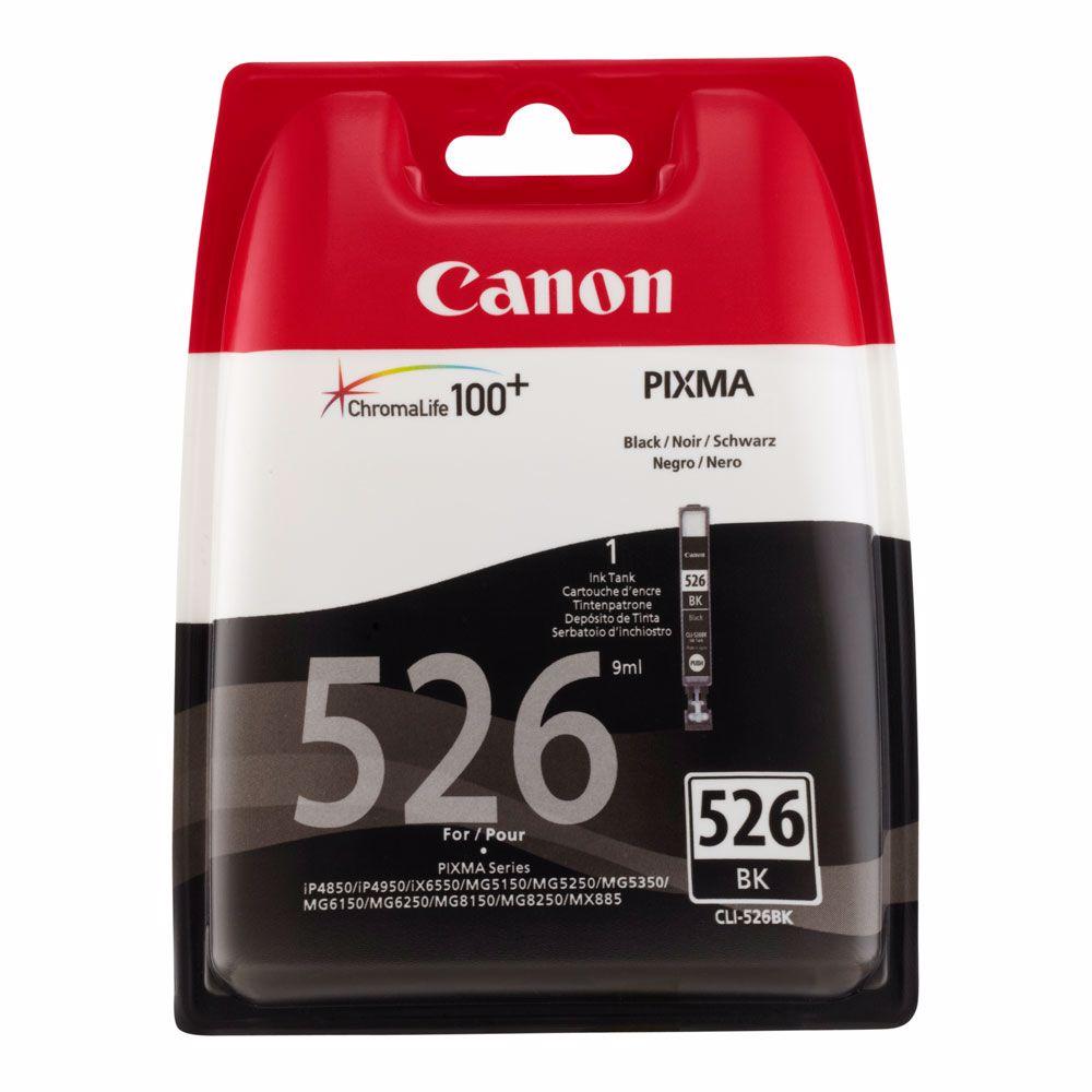 Canon cartridge CLI-526 BK (zwart)
