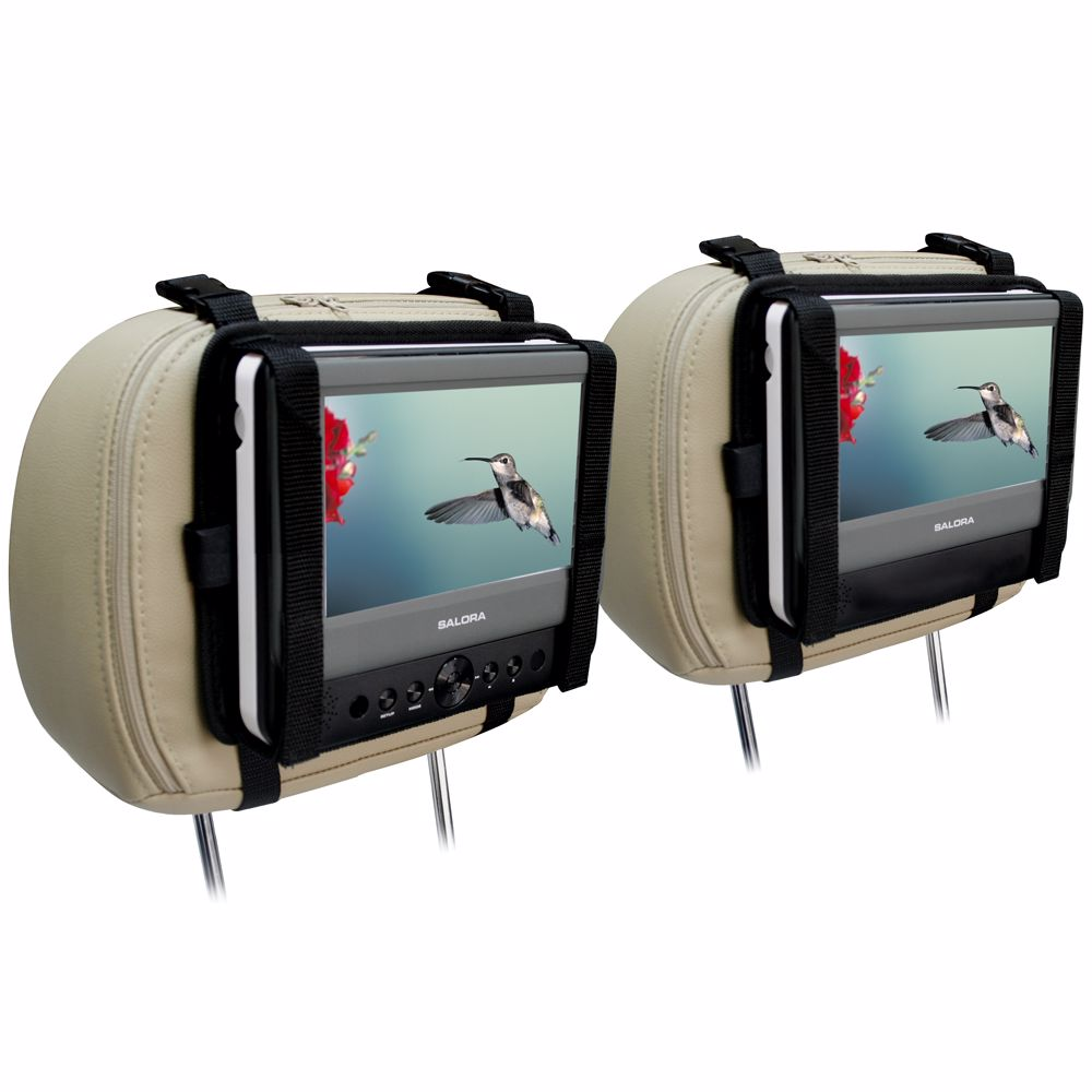 Salora portable DVD speler DVP7048TWIN