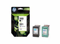 HP cartridge voordeelpak PACK 350 + 351
