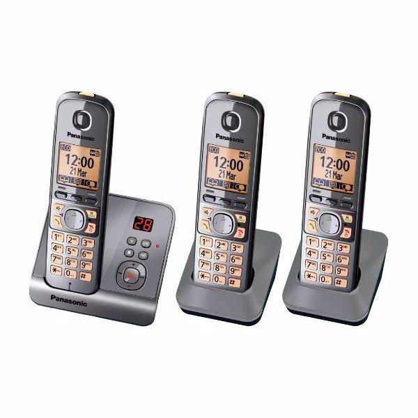 Panasonic dect set KXTG6723NL
