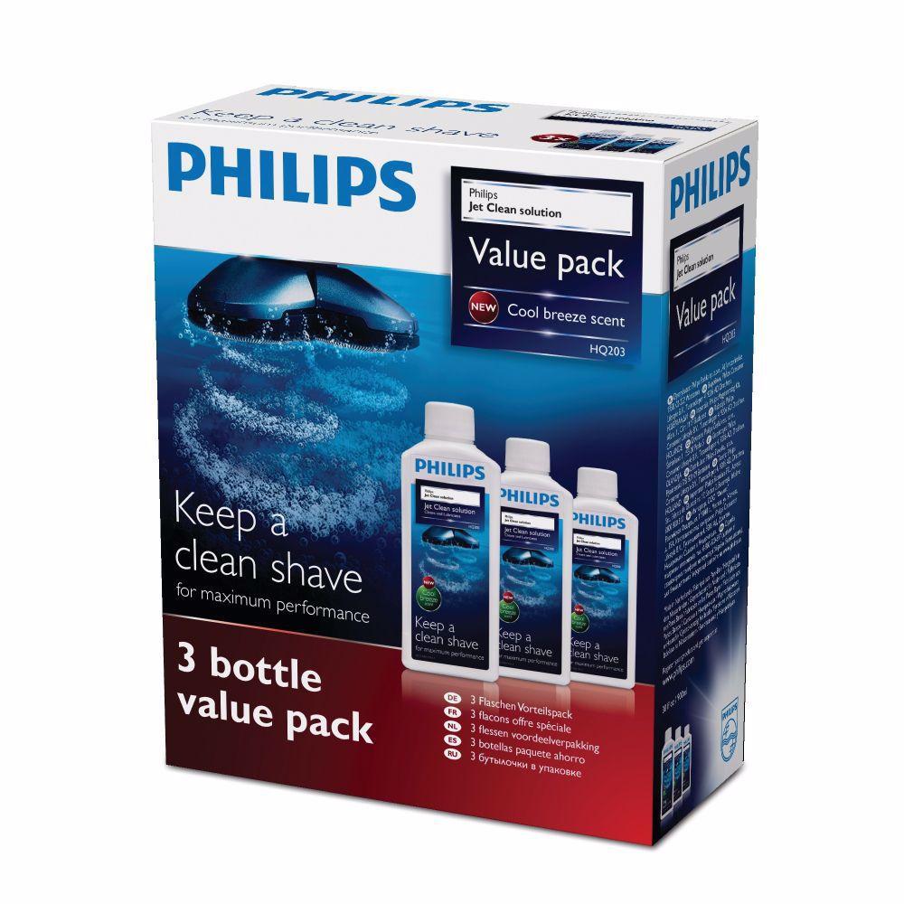Philips scheerkopreiniger HQ203/50 (3 stuks)