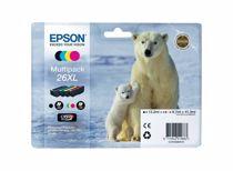 Epson cartridge voordeelpak T2636 XL BK + 3CL