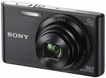 Sony compact camera DSC-W830 (Zwart)