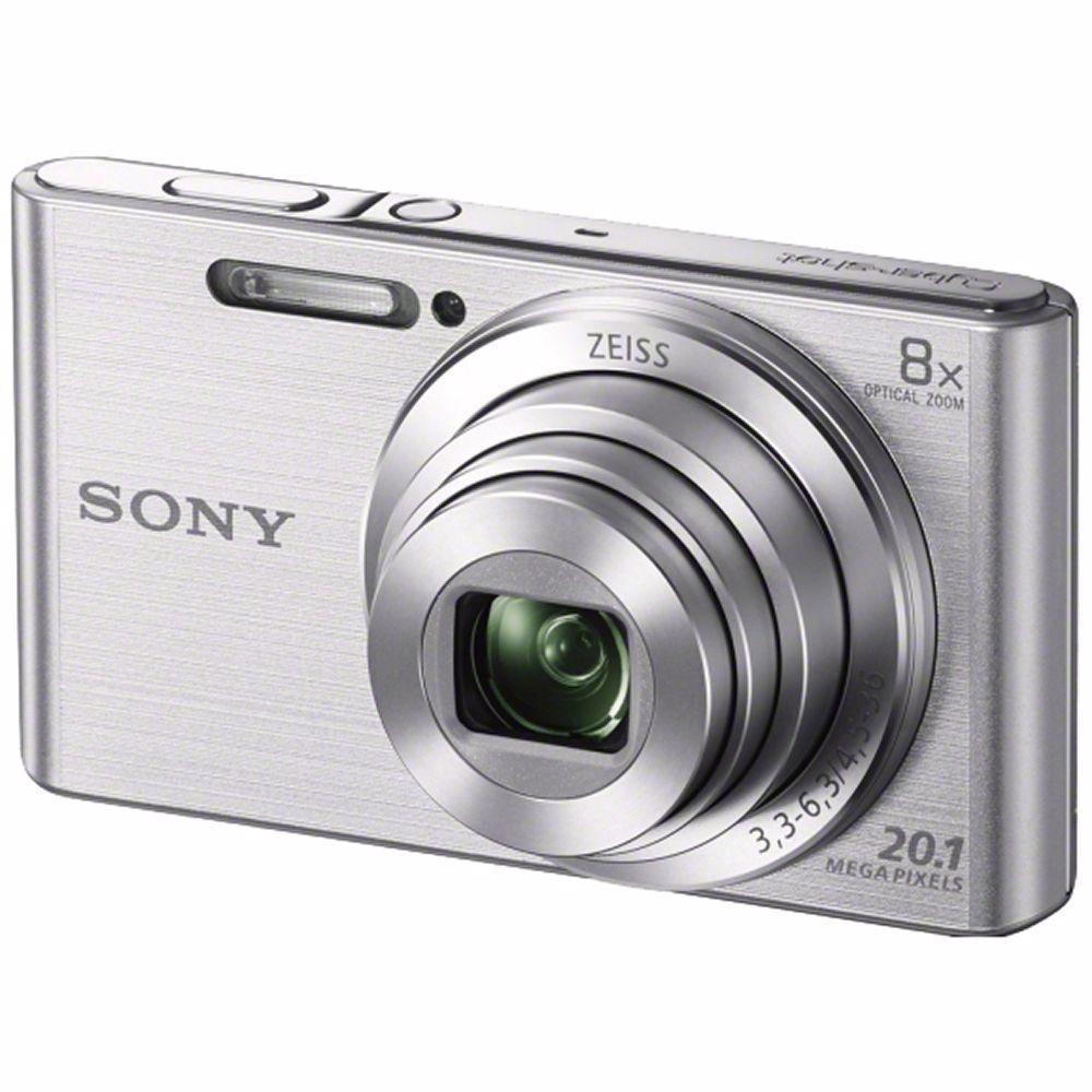 Sony compact camera DSC-W830 (Zilver)