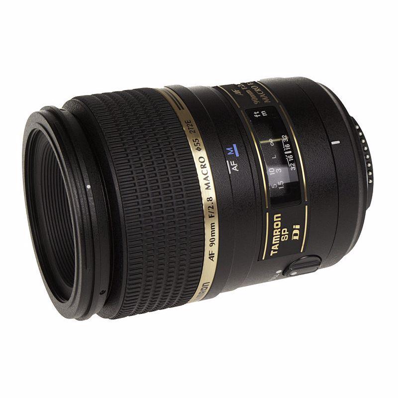 Tamron objectief 90mm F/2.8 SP Di Macro (Canon)