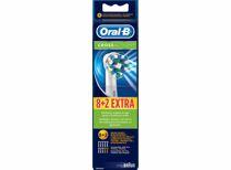 Oral-B opzetborstels CrossAction 8+2 (10 stuks)