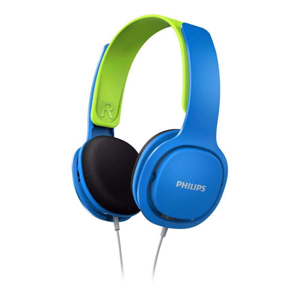 Philips koptelefoon SHK2000BL (blauw/groen)