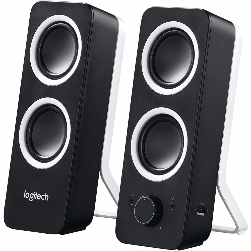 Logitech PC speakersysteem Z200 (Zwart)