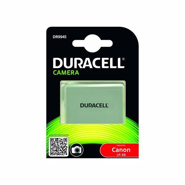 Duracell Canon LP-E8 accu