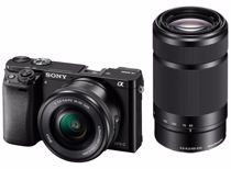Sony systeemcamera A6000Y incl. 16-50 + 55-210mm lens