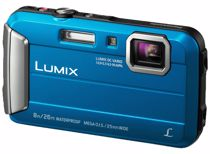 Panasonic compact camera Lumix DMC-FT30 Blauw