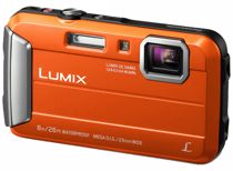 Panasonic compact camera Lumix DMC-FT30 Oranje